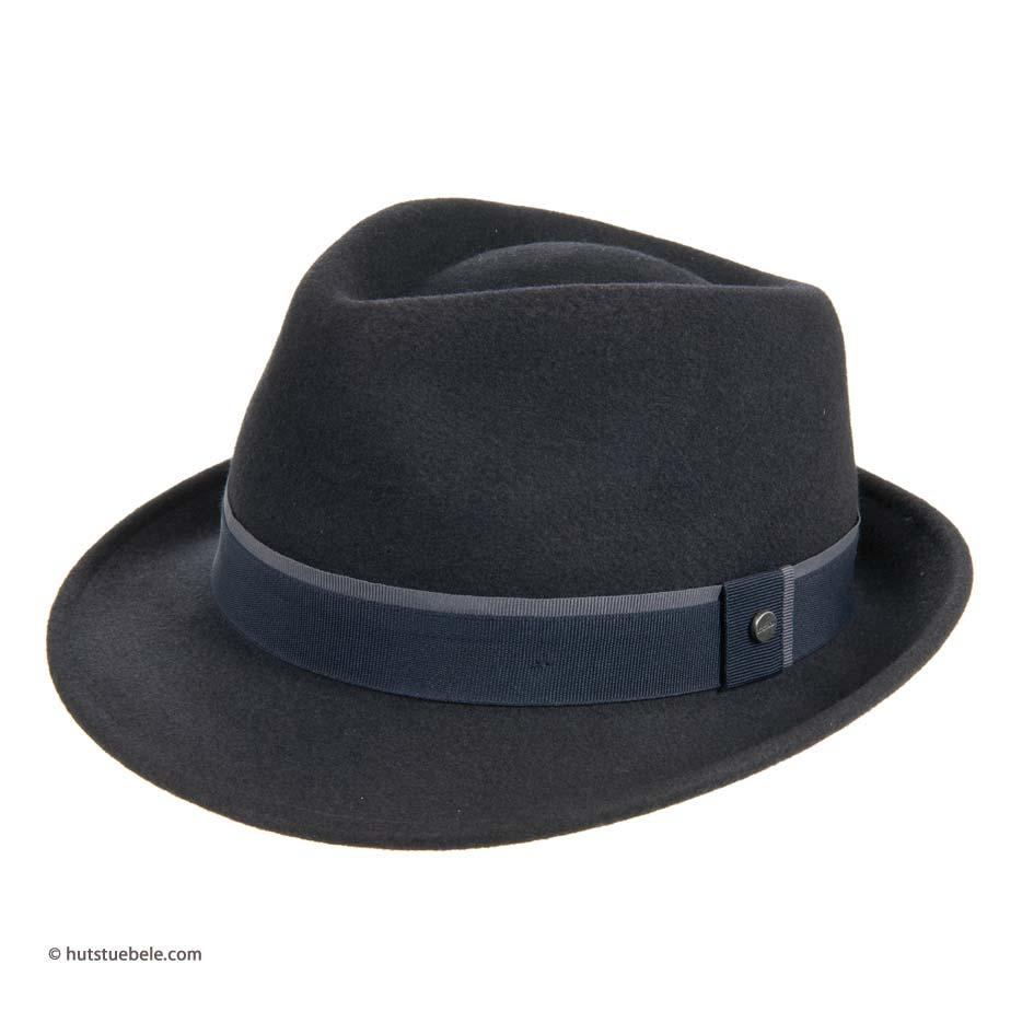 cappello da uomo Trily Woburn Woolfelt by Stetson con tesa piccola ... e8a9c9220104