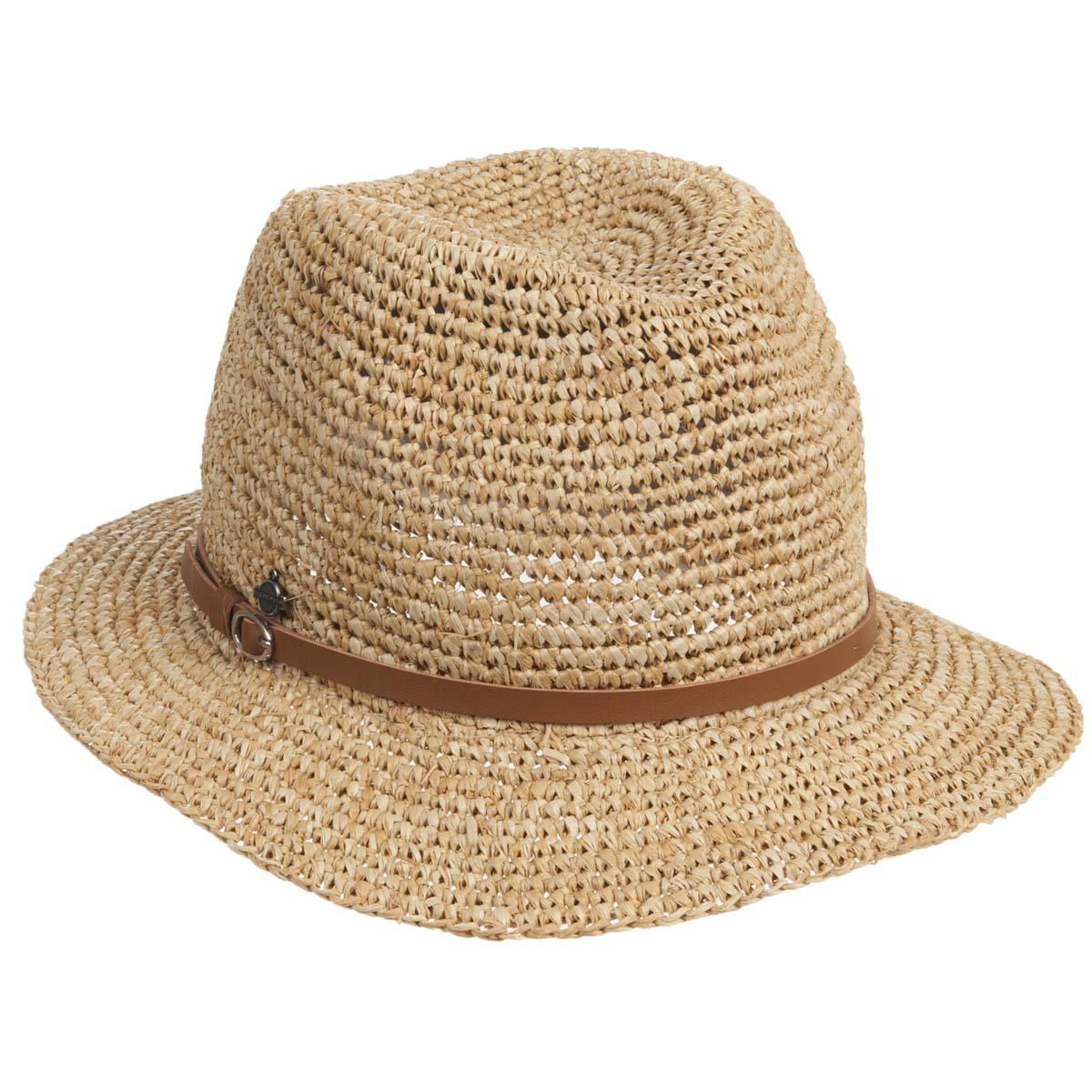 cappello donna in raffia firmato SEEBERGER ... 30ea69d85ea8