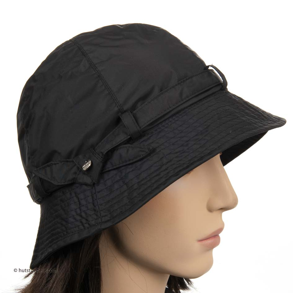 cappello impermiabile da donna con tesa media ...