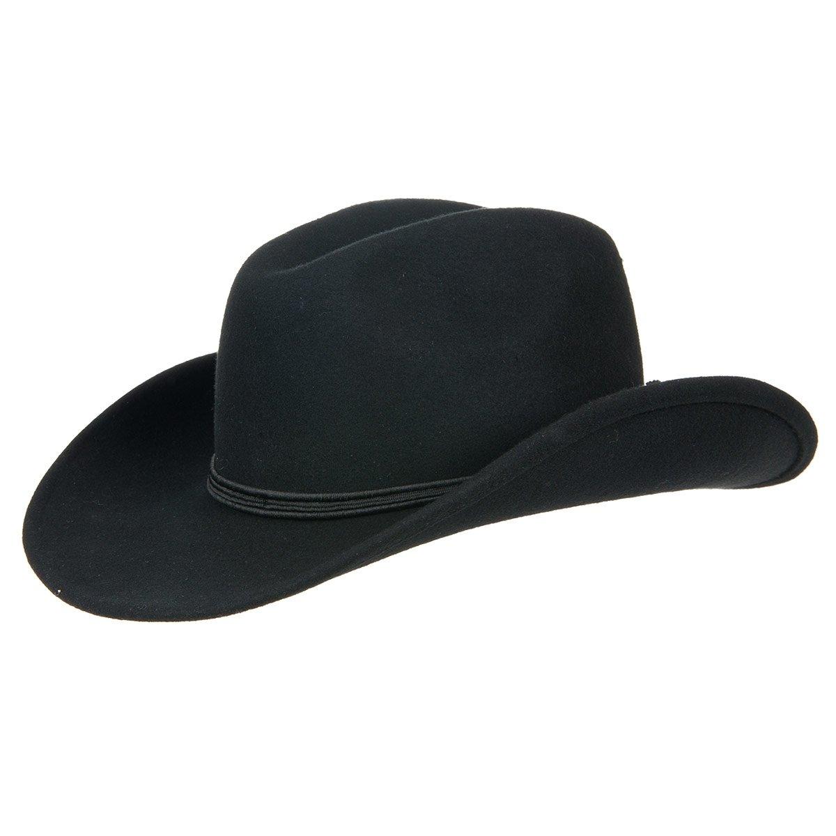 Elegante copricapo stile western con ampia falda ac2fe51c6204