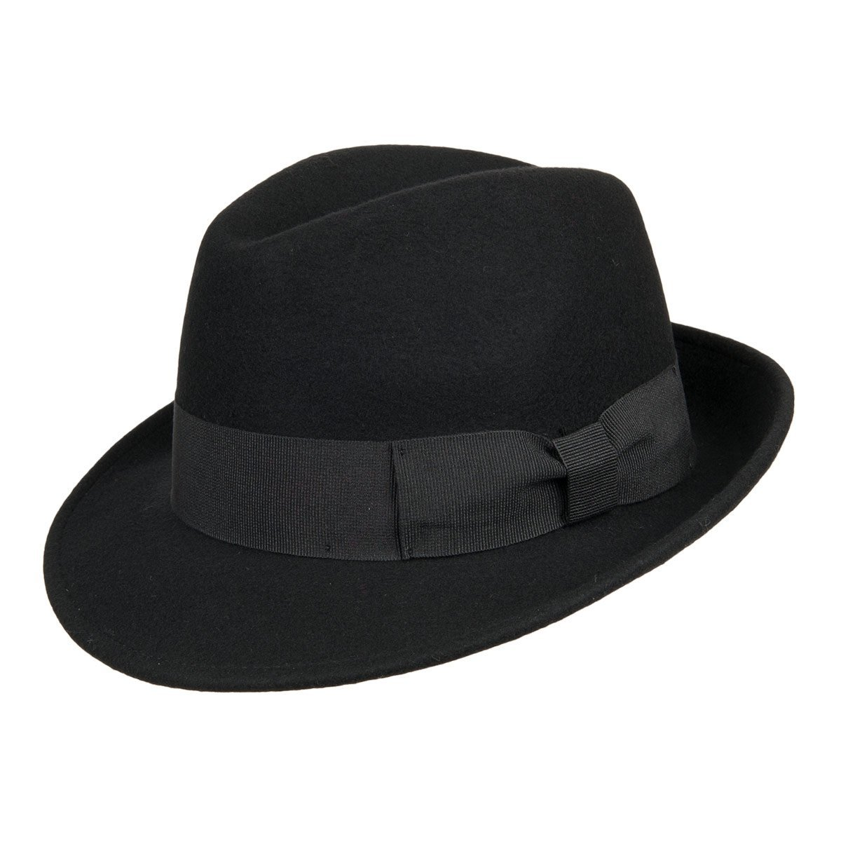 cappello in feltro modello classico a falda media per uomo e donna ... 4060252da117
