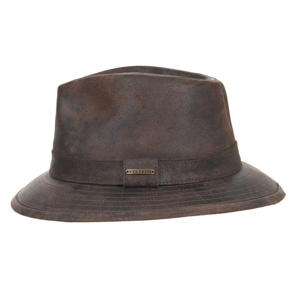 cappello in pelle Elkhart by Stetson ... 4a87beadb7d1