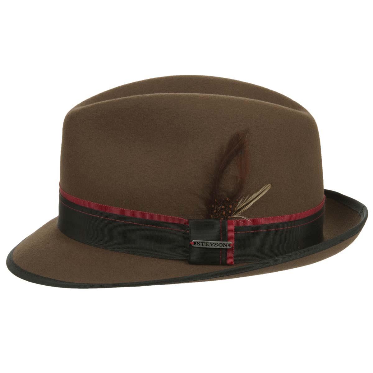 cappello modello Trilby Virginia Vitafelt firmato STETSON 82e4b623ae5b