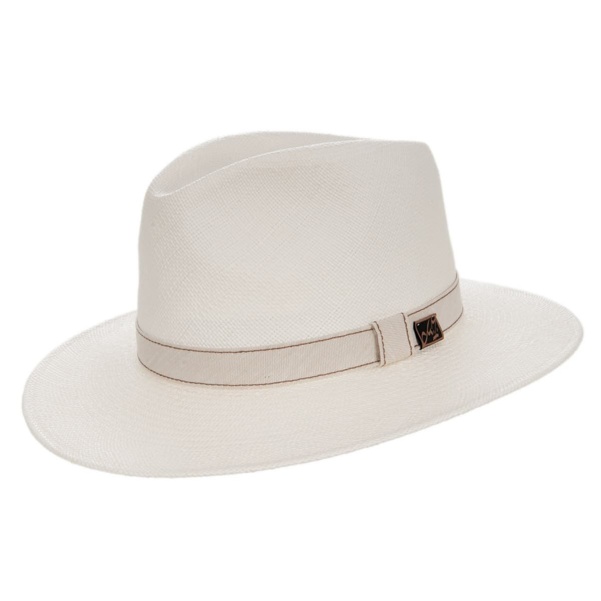 valore eccezionale prezzo migliore ultimo stile del 2019 cappello originale paglia Panama Brooklyn firmato Zechbauer