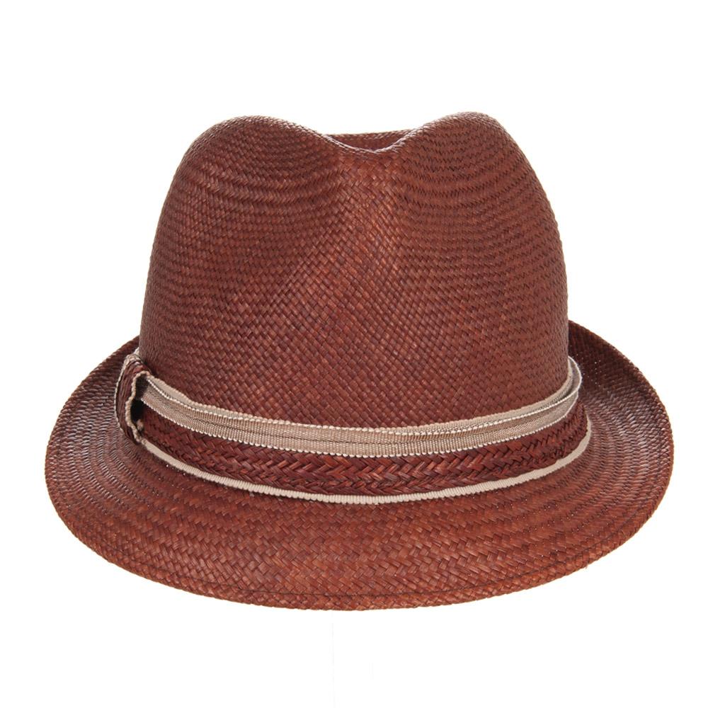 cappucci con benna a tesa larga a cappello panama …