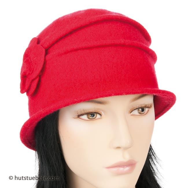 cappello per donna lavorato in lana cotta 63cdc366a9e8