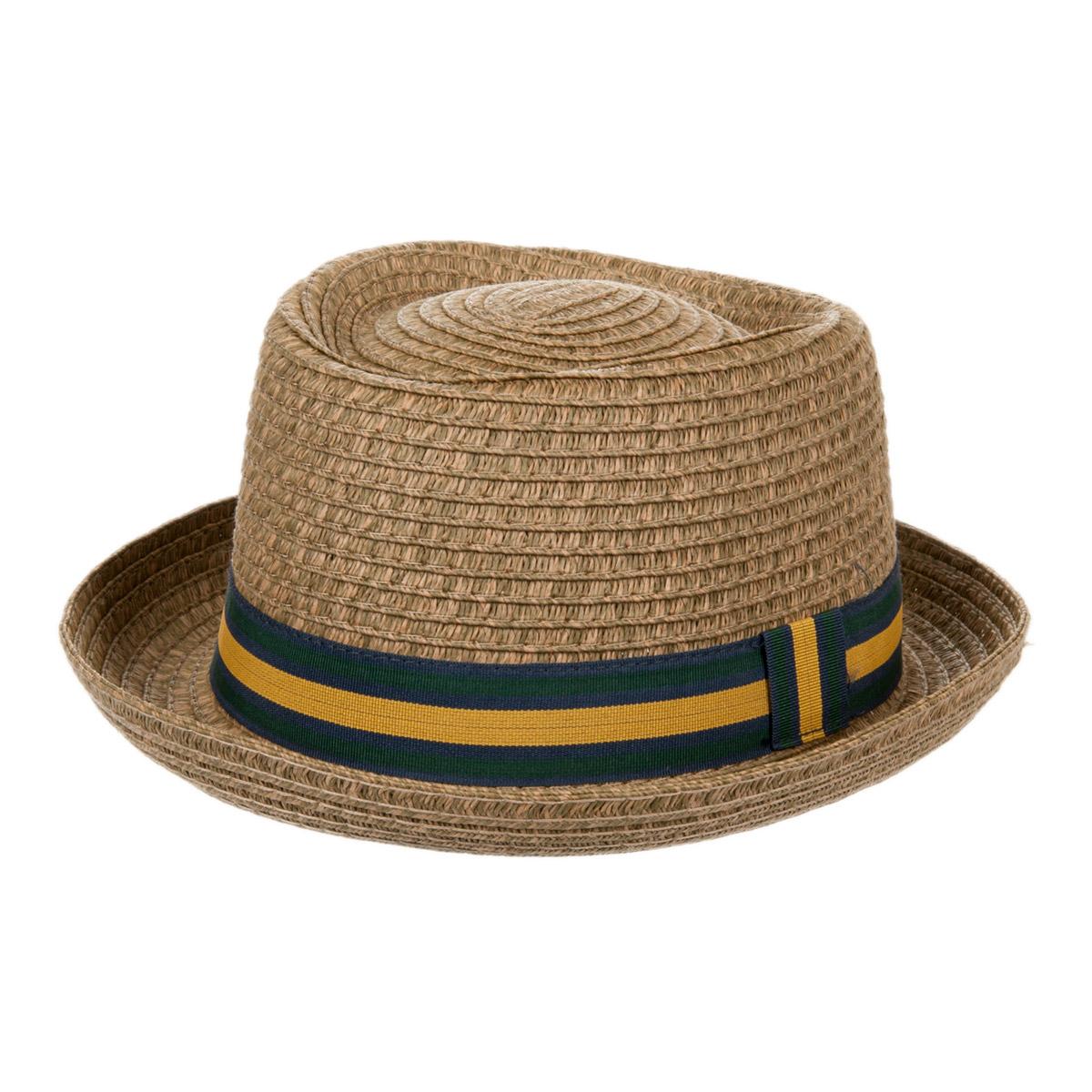 cappello pork pie in paglia di carta per l estate 9c64bdb31881
