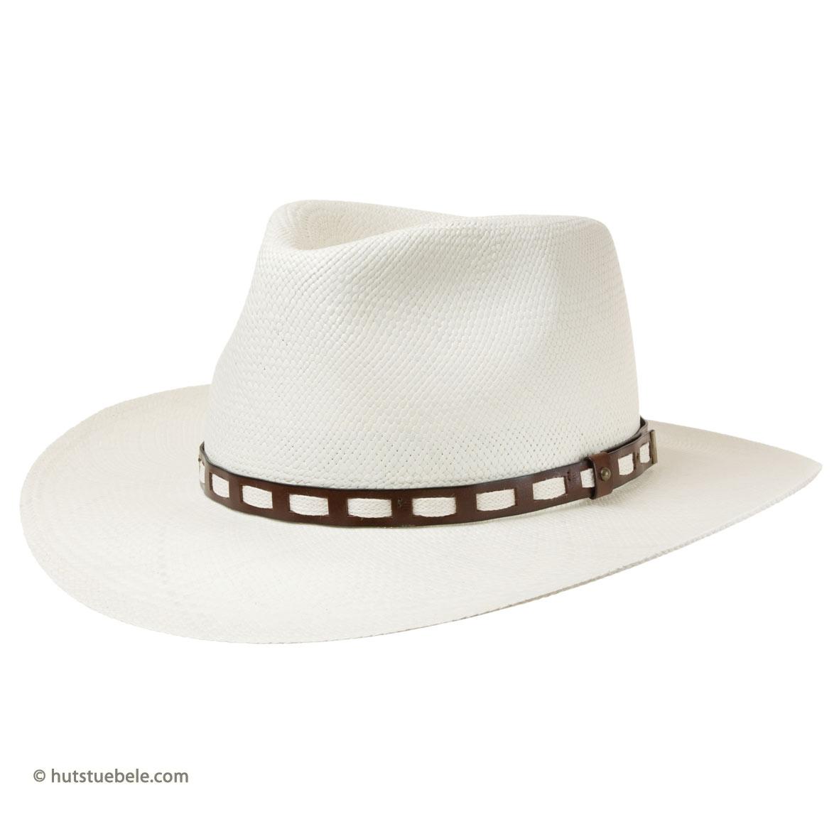 cappello sportivo di Panama con tesa larga by HUTTER ccca1708817c