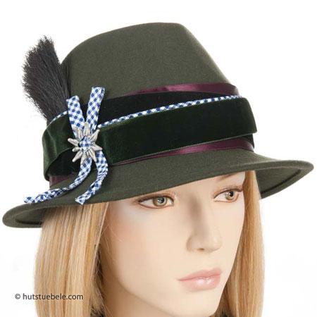 cappello tirolese da donna, EUR 149,90 --> cappelleria ...