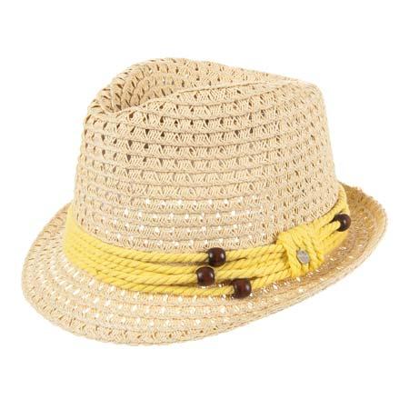 cappello trilby Svenia in paglia carta con guarnizione da velista ... 5f017e0b1c8b