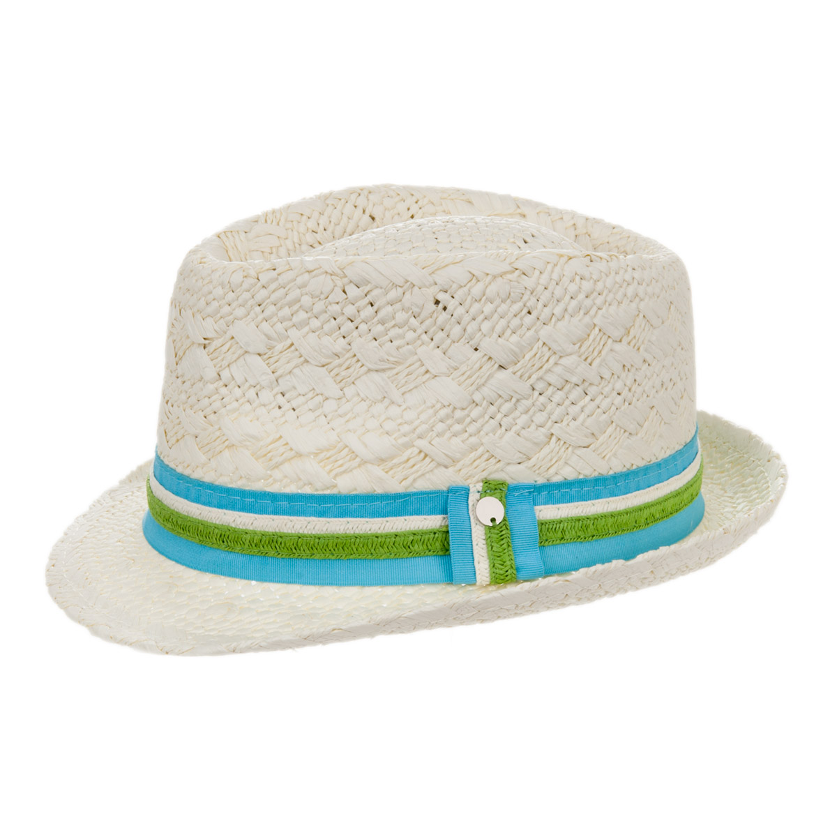 cappello trilby estivo bianco ... 6efc94152d55