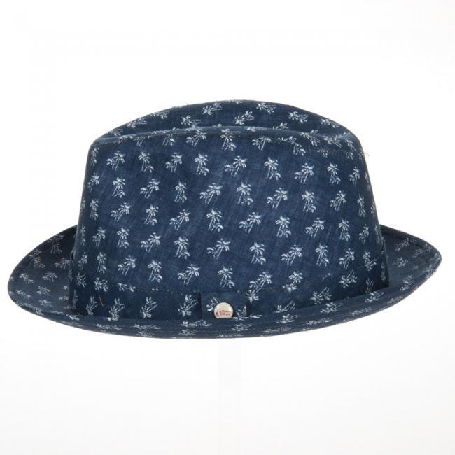 ... cappello trilby in lino firmato Alfonso d´Este ae3699b59a69