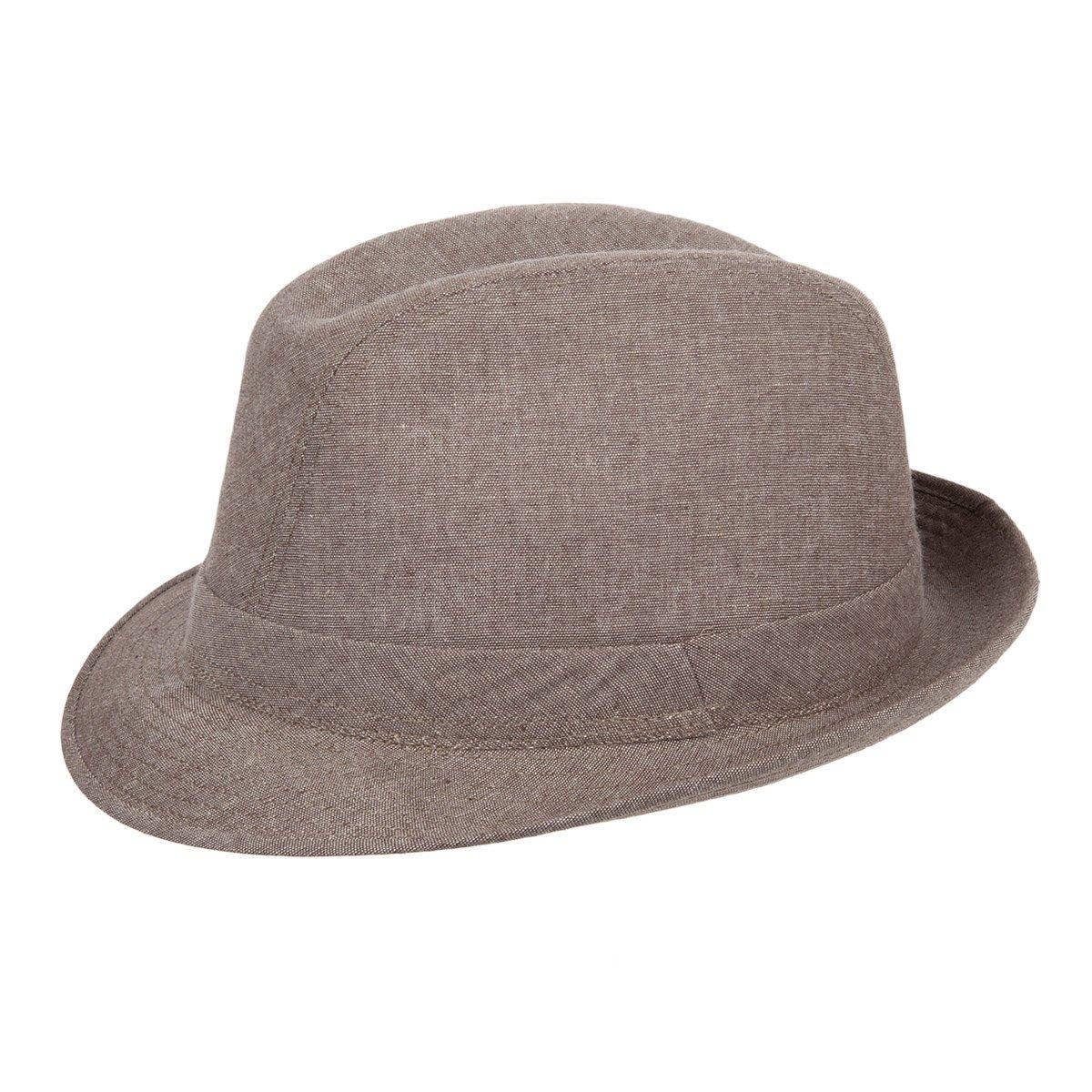 cappello trilby in puro cotone ... 333ee9991b45