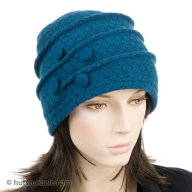4fa450862d cuffia da donna in lana cotta, EUR 69,90 --> cappelleria Hutstuebele ...
