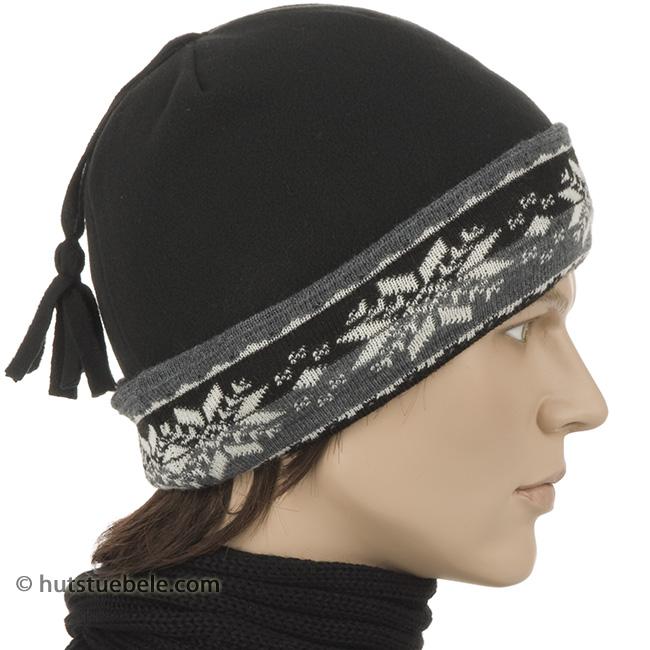 cuffia sportiva in pile di alta qualità e con risvolto in lana maglia 4b28751c280f