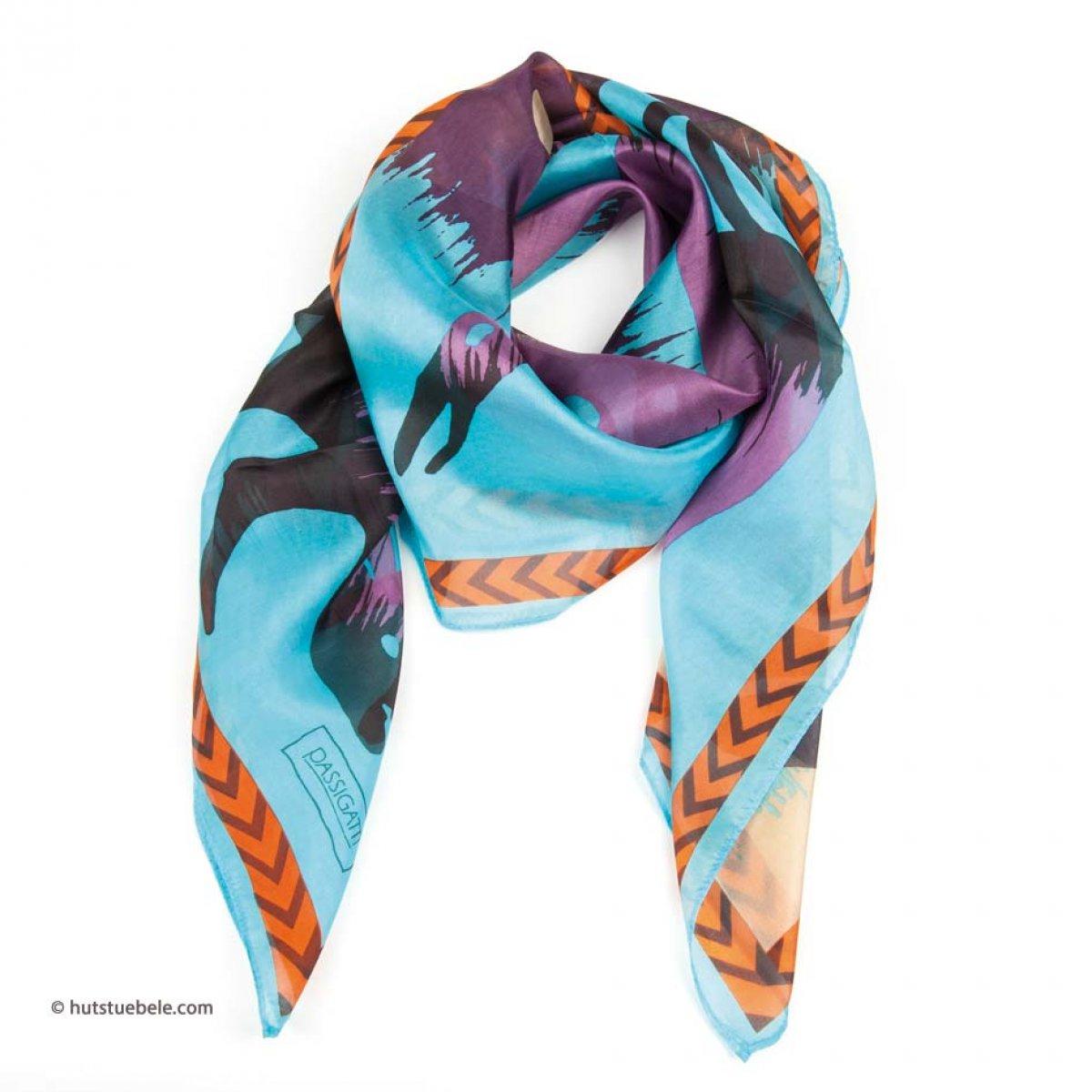 scarpe sportive 5e2f1 3d38d foulard in seta da donna di Passigatti
