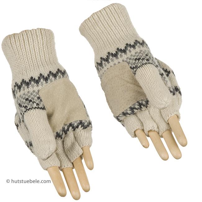 guanti per donna senza dita tipo manopole con fodera THINSULATE ... fd40334bde2c