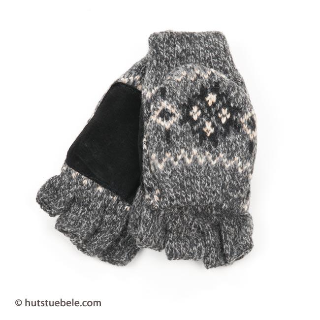 ... guanti per donna senza dita tipo manopole con fodera THINSULATE ... 6a23ae6ad91b