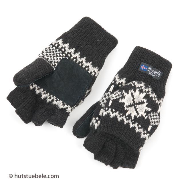 ... guanti per donna senza dita tipo manopole con fodera THINSULATE c4fc47562be2