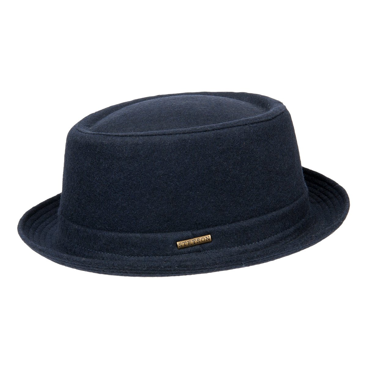 52775abf45c Pork Pie Wool hat with lining in cotton by STETSON