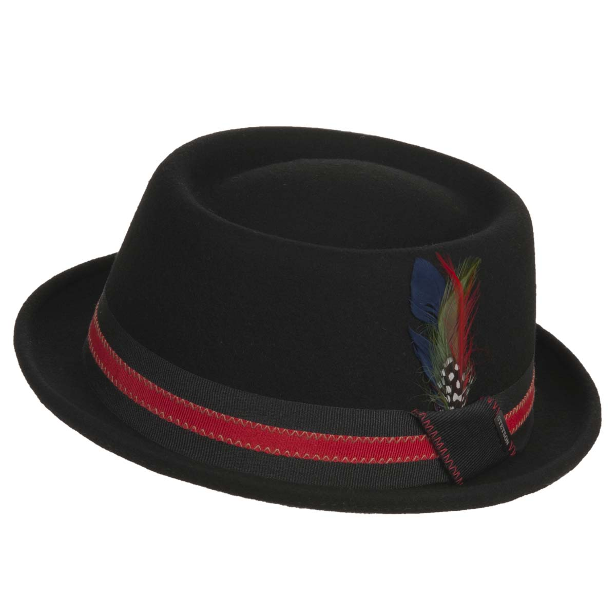 7b2a7ada5 hat pork pie Pennsylvania Wollfelt by STETSON