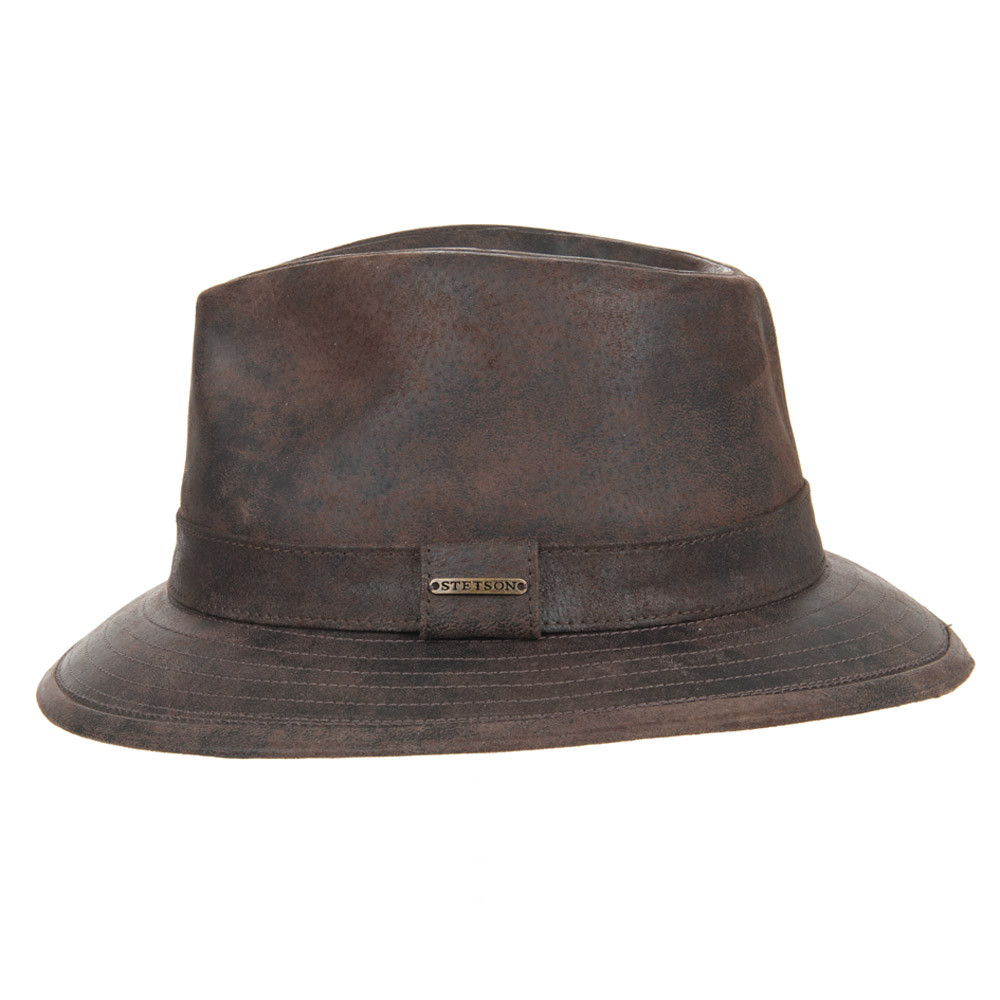 leather hat Elkhart by Stetson  7564ed19b20