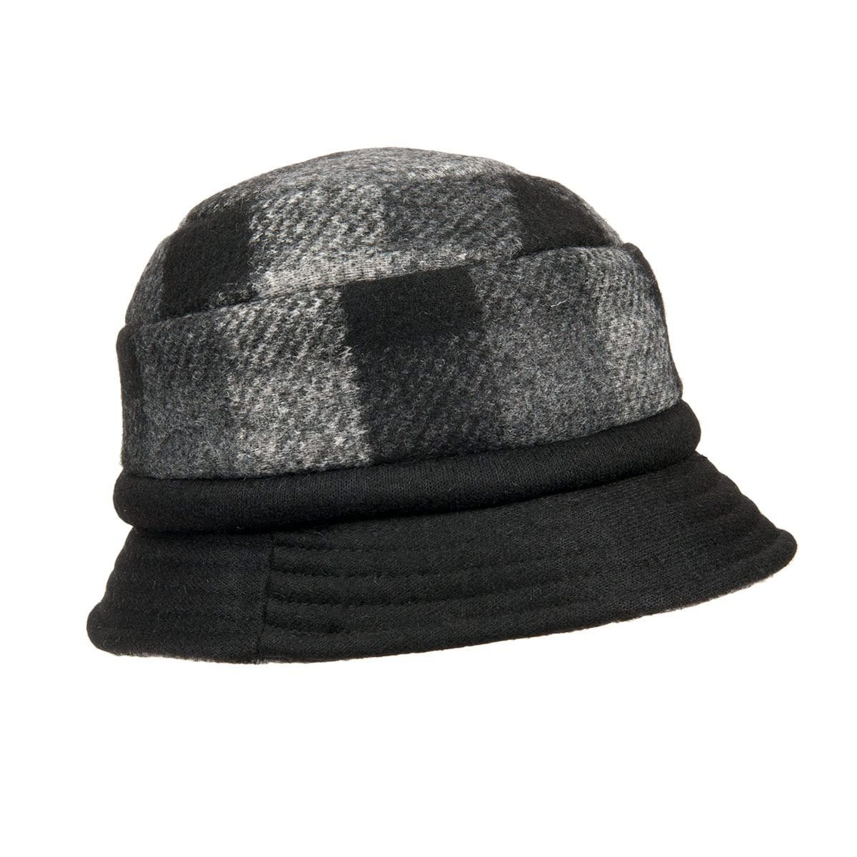 one size flapper fabric hat 27b2cc45269