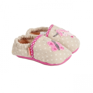 03772e11c43cc Pantofole da baby modello Burgstall firmate GIESSWEIN