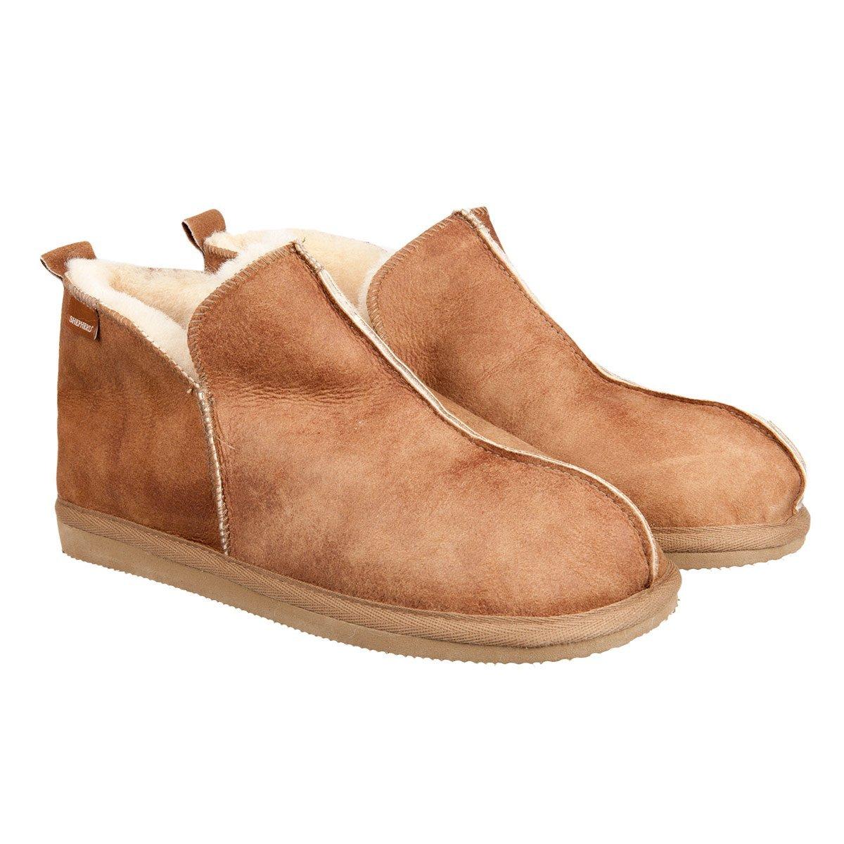 new product 82e7d 98268 pantofole in montone da uomo con suola antiscivola Anton Shepherd