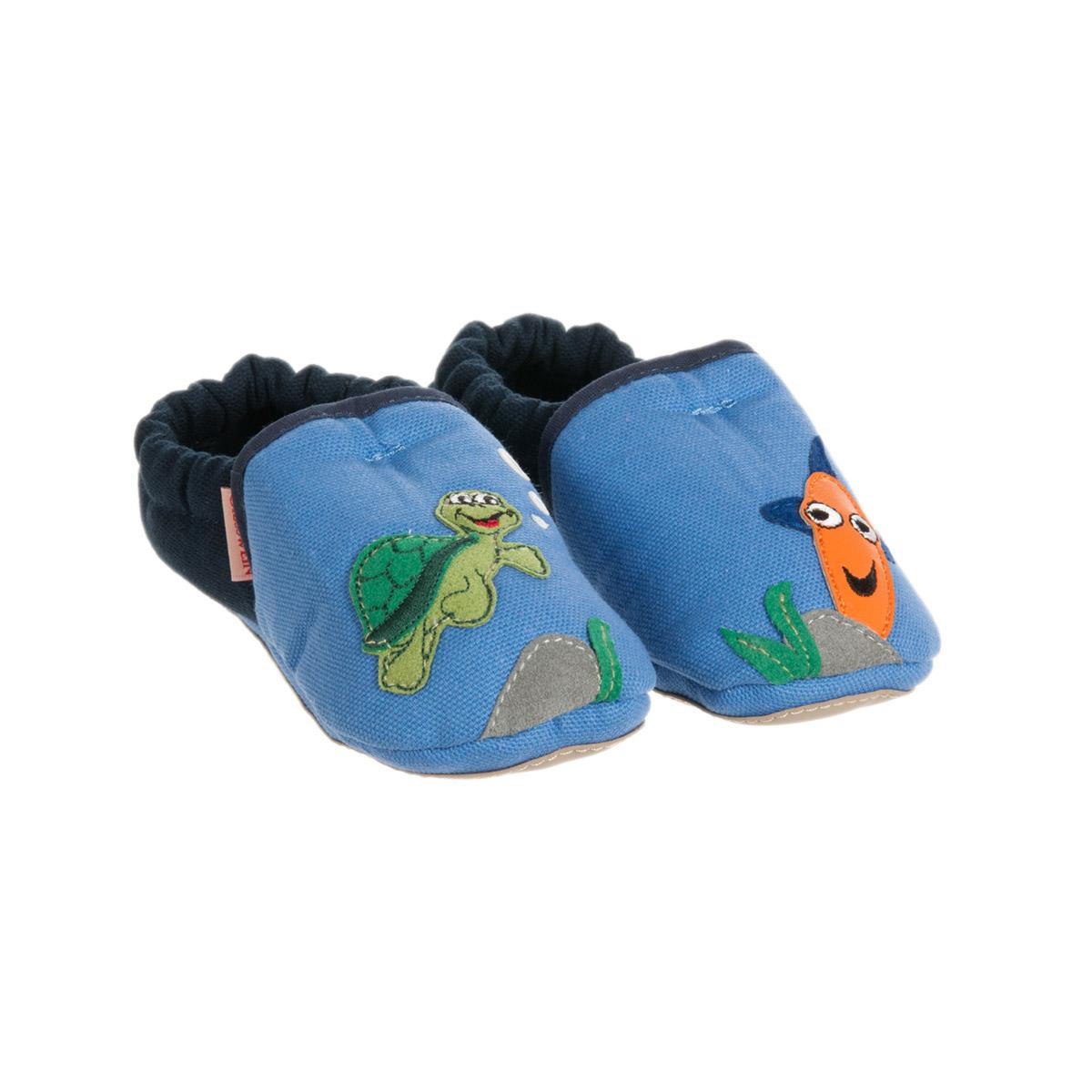 tessuti pregiati il più votato a buon mercato seleziona per il più recente pantofole per bambini con suola antiscivolo per i primi passi firmato  GIESSWEIN