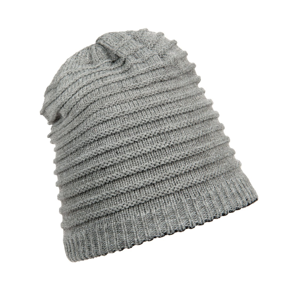 reversible wooly beanie cap for woman 07e5baa04fe