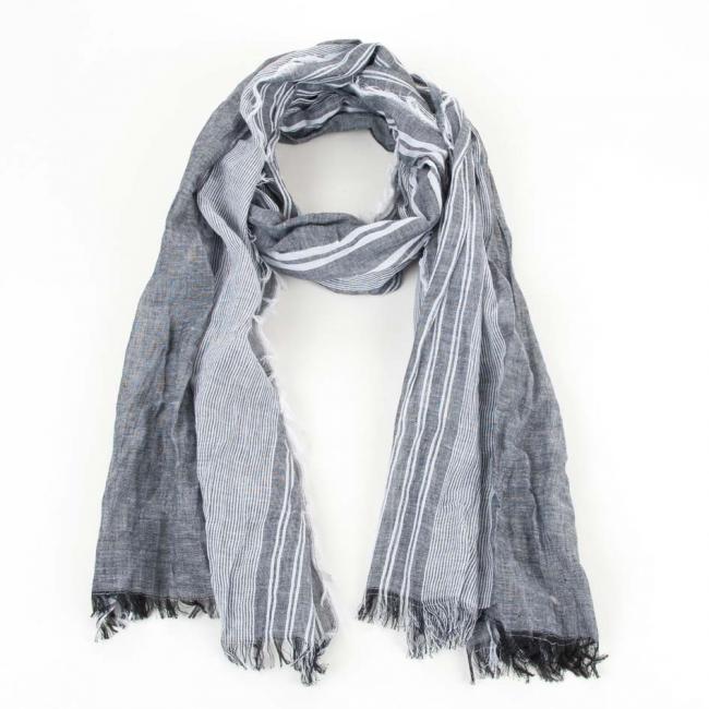 più economico enorme inventario prezzo favorevole sciarpa estiva leggera in puro cotone 60x180cm