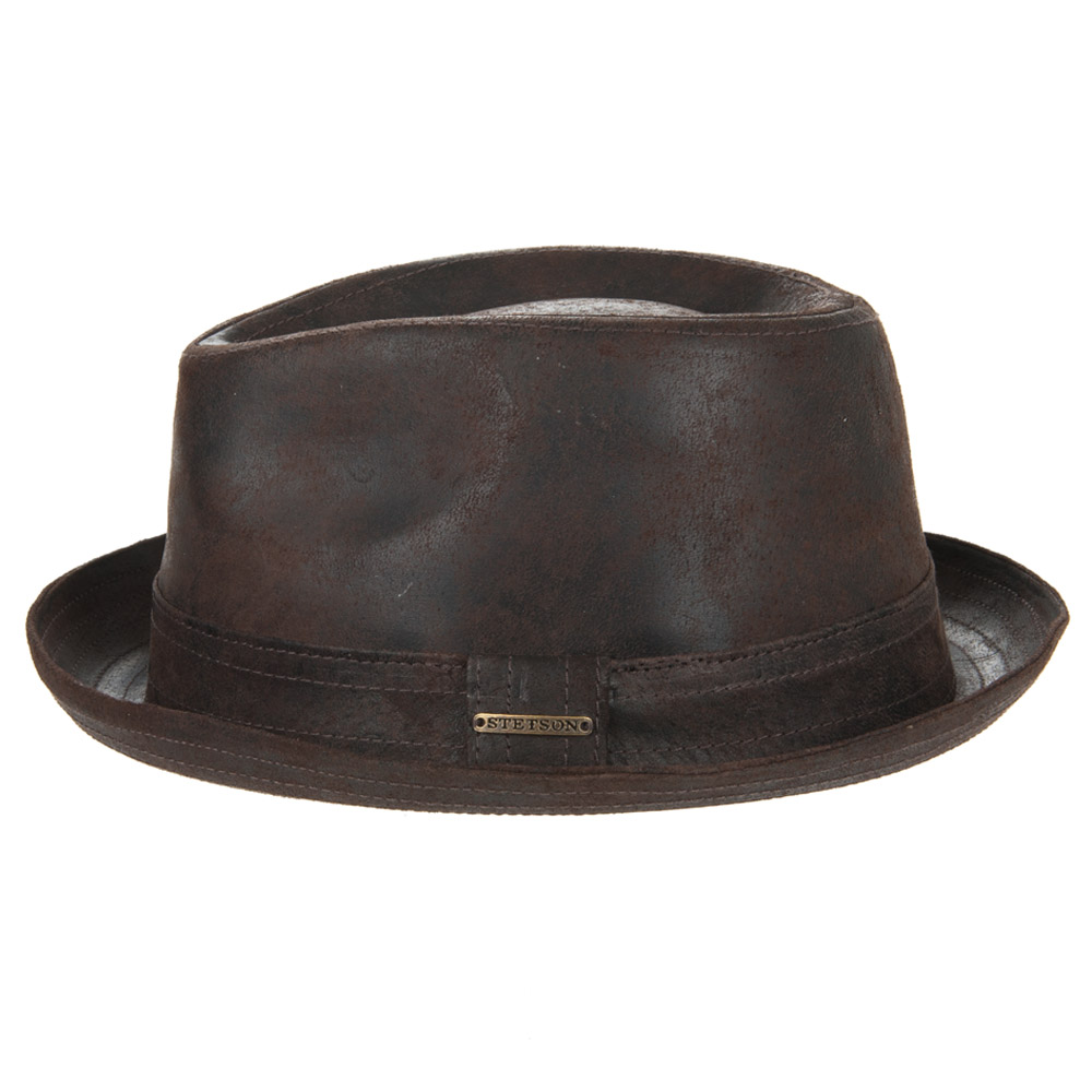trilby hat Radcliff Pig Skin by STETSON  f51fc38634f